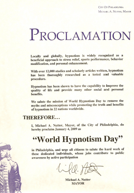 philadelphia pennsylvania hypnotist