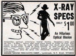 hypnosis blog x-ray specs